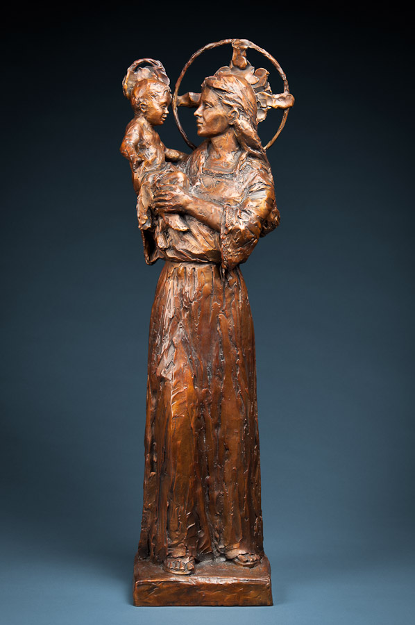 Blog News And Articles Dennis Smith Sculpture - This beautiful bronze sculpture has been attached to a tree since 1968