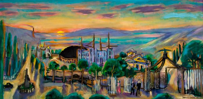 dsc-03-02 Temple Rising 18x36