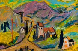 Church Near a Crossroads