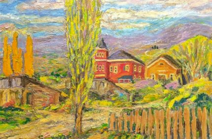 The Old School {Alpine}